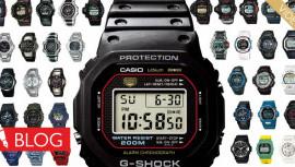 Kratka zgodovina, polna prvenstev. Tako je tekel čas zročnimi urami Casio G-Shock